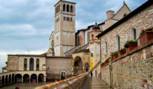 Assisi city of Umbria (Italy)