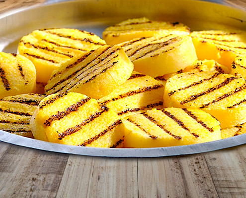 Roasted Polenta - An Italian Dish for Gluttons!
