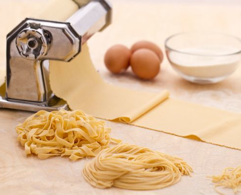 Machine Tool to make Pasta like Italians do